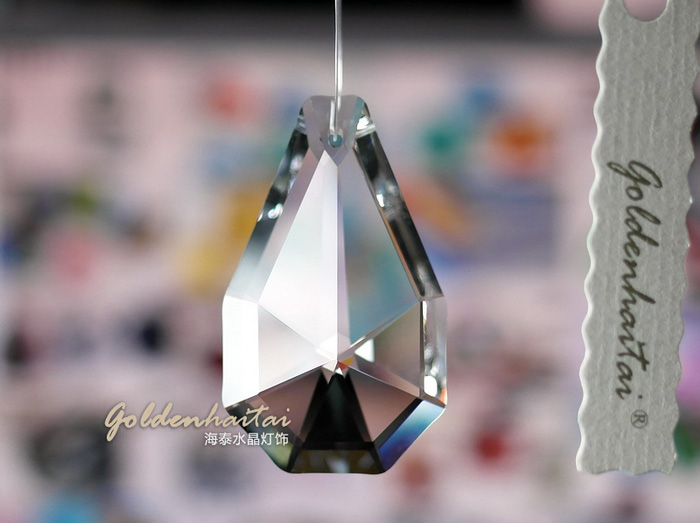 Crystal Pear Shape Chandelier Parts