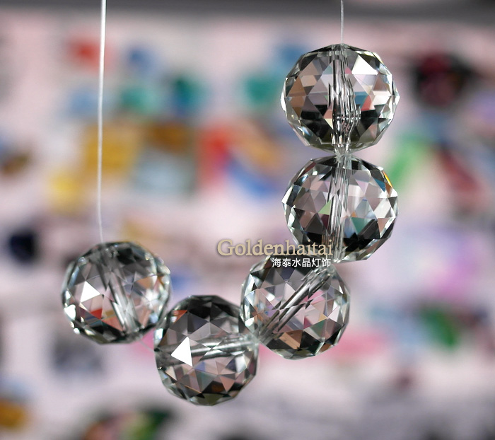 Crystal Beaded Curtain Disco, Chandelier Replacement Glass Beads