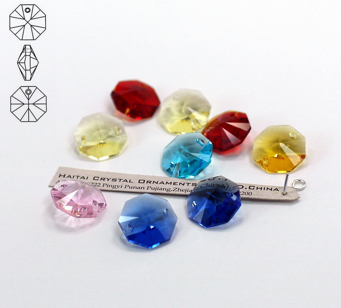 Crystal Octagon Beads, Crystal Chandelier Parts, Crystal Parts ...