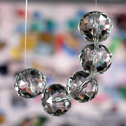 Crystals Chandelier Parts Disco Ball ( 120 faceted )