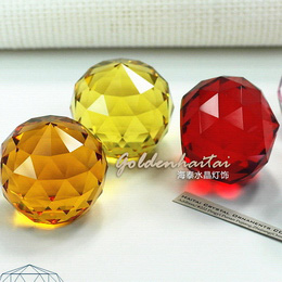 K9 Crystal faceted ball